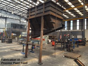 Fabrication of Process Plant Feed Chute